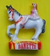 Fève - Banette - Le Grand Cirque - Ecuyère - Réf AFF 2011 126 - Characters