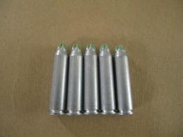 5 Cartouches à Blanc Cal 7,5 Mm En Alu MAS 36 - Equipment