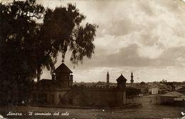 Eritrea, ASMARA, Farewell To The Sun (1930s) RPPC Postcard - Eritrea
