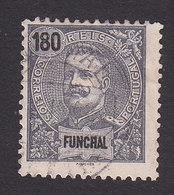 Funchal, Scott #31, Used, King Carlos, Issued 1897 - Funchal