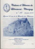BATAILLE  DES  ARDENNES       CAHIERS D'HISTOIRE  DE  LIBRAMONT - Guerra 1939-45