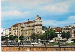 Portugal - Coimbra - Centro Da Cidade Hotel Astória E Pormenor Do Posto Da Polícia De Trânsito. . - Coimbra