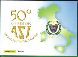 """*ITALIA : FOLDER 50° ASI """"AUTOMOTOCLUB STORICO ITALIANO""""--18.9.2016. - Paquetes De Presentación"""