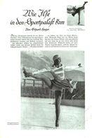 Wie Isle In Den Sportpalast Kam (Eiskusntlauf) / Artikel, Entnommen Aus Zeitschrift /1938 - Pacchi