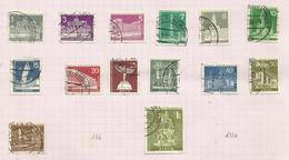 Berlin N°125 à 133A, 135 Cote 20 Euros - [5] Berlin