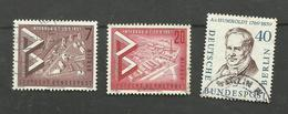 Berlin N°141, 142, 150A Cote 3 Euros - [5] Berlin