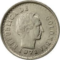 Colombie, 20 Centavos, 1971, TTB+, Nickel Clad Steel, KM:245 - Colombia