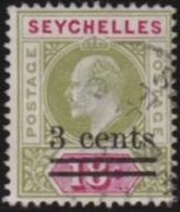 Seychelles   .     SG    .     58    .    O    .     Gebruikt   .    /    .     Cancelled - Seychellen (...-1976)
