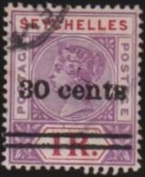 Seychelles   .     SG    .     43  .    O    .     Gebruikt   .    /    .     Cancelled - Seychellen (...-1976)