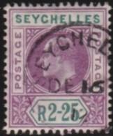 Seychelles   .     SG    .    70     .    O    .     Gebruikt   .    /    .     Cancelled - Seychellen (...-1976)