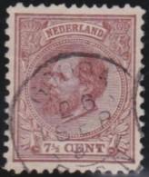 Nederland  .    NVPH      .    20    .    O    .     Gebruikt   .    /    .     Cancelled - Periode 1852-1890 (Willem III)