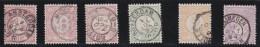 Nederland  .    NVPH      .    30F/33F    .    O    .     Gebruikt   .    /    .     Cancelled - Periode 1852-1890 (Willem III)