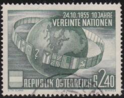 Oostenrijk    .    Yvert      .     855       .    O    .     Gebruikt   .    /    .     Cancelled - 1945-.... 2de Republiek