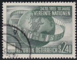 Oostenrijk    .    Yvert      .     855     .    O    .     Gebruikt   .    /    .     Cancelled - 1945-60 Afgestempeld