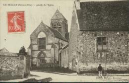 95 LE BELLAY EN VEXIN / Abside De L'Eglise / Carte Glacée / - France