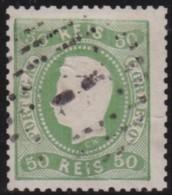 Portugal     .   Yvert     .    30     .    O    .     Gebruikt   .    /    .     Cancelled - 1855-1858: D.Pedro V