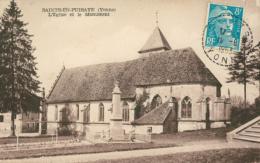 89 SAINTS /  L'église Et Le Monument / - Autres Communes