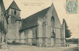 89 SAINTS /  L'église La Place / - Autres Communes