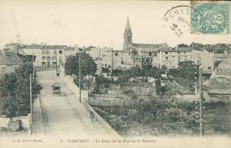 92 GARCHES / Le Haut De La Rue De La Station / - Garches