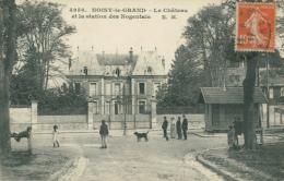 93 NOISY LE GRAND / Le Château Et La Station Des Nogentais / - Noisy Le Grand