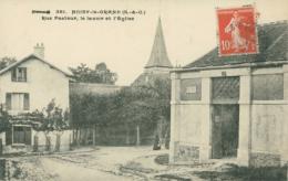 93 NOISY LE GRAND /Rue Pasteur, Le Lavoir Et L'Eglise / - Noisy Le Grand