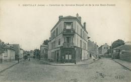 94 GENTILLY /  Carrefour De L'Avenue Raspail Et De La Rue Bout Durand / - Gentilly