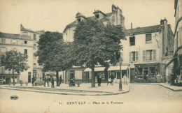 94 GENTILLY /  Place De La Fontaine / - Gentilly