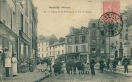 94 GENTILLY /  Place De La Fontaine Et Rue Frileuse / - Gentilly