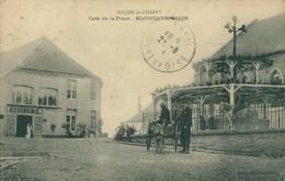BE MACON LES CHIMAY / Café De La Place / - Belgique