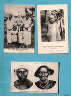Afrique Malawi Shiré Lot De 3 Cartes - Malawi