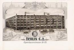 BERLIN  Belles Planches De 1914 De L' Entreprise Schuchardt Et Schütte Spandauerstrasse 28-29 - Zonder Classificatie