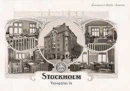 STOCKHOLM  Belles Planches De 1914 De L' Entreprise Schuchardt Et Schütte Vasagaran 24 - Zonder Classificatie