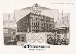 SAINT PETERSBOURG   Belles Planches De 1914 De L' Entreprise Schuchardt Et Schütte Newski Prospect 11 - Zonder Classificatie