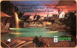 Philippines - Plessey, GPT, Manila Diamond Hotel, 150U, Demo Card. Without CN - Philippines