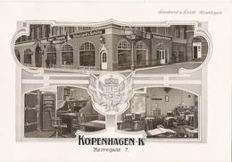 COPENHAGUE  Belles Planches De 1914 De L' Entreprise Schuchardt Et Schütte Norregade 7 - Zonder Classificatie