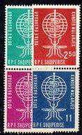 263 - 490 - ALBANIA 1962 ,    Yvert N. 5769/572  ***  Malaria - Albania