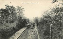 LIANCOURT INTERIEUR DE LA GARE - Liancourt