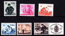 Bulgaria SG 507-512 1942 War Invalids, Mint Never Hinged - 1909-45 Kingdom