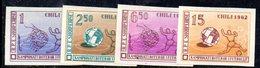 267 - 490 - ALBANIA 1962 ,    Yvert N. 581/584  ***  NON DENTELLATO. MONDIALI CALCIO - Albania