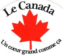 LE CANADA UN COEUR GRAND COMME CA - Hockey - Minors (Ligue Mineure)