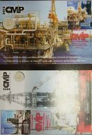 L) 2012 MEXICO, MEXICAN OIL CONGRESS, PETROLEUM, COMPLEX OF OIL PLATFORMS,  INDUSTRY, FDC - Mexico