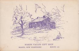 CPSM Mason - Mason Valley Gift Shop - Route123 (invitation Voir Verso) - Etats-Unis
