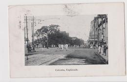 Calcutta Esplanade, India - F.p. - Anni '1910 - India