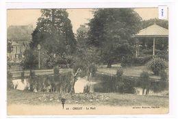 CPA (49) Cholet. Le Mail .Kiosque .Animé.   (129) - Cholet
