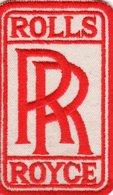 ROLLS ROYCE - Ecusson Tissu 8,5X5 - Advertising