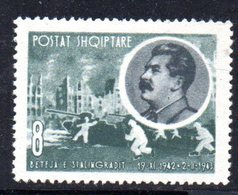 276 - 490 - ALBANIA 1963 ,    Yvert N. 610  ***  Stalin - Albania