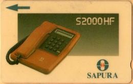 Malaysia - GPT, Telephone 4, 5MSAB, 20 RM, 150.000ex, 1990, Used - Malaysia