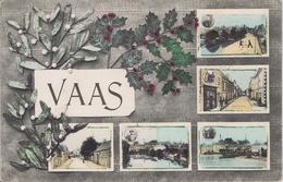 72 - Vaas (Sarthe) - Souvenir - 5 Vues - Andere Gemeenten