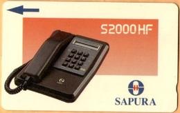 Malaysia - GPT, Telephone 3, 10MSAD, 10 RM, 120.000ex, 1991, Used - Malaysia