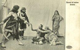 SCENE OF INDIAN DRAMA   INDIA  ASIA - India